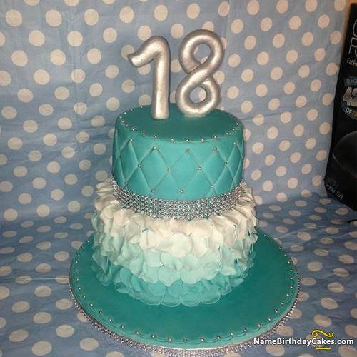 Astounding 18Th Birthday Cake Images Download Share Personalised Birthday Cards Veneteletsinfo