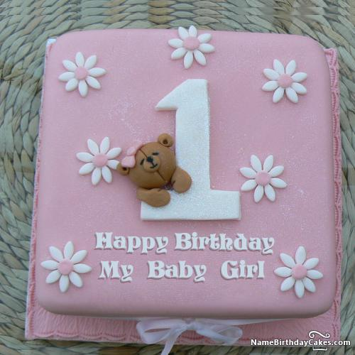 1st Birthday Cake Girl Download Share