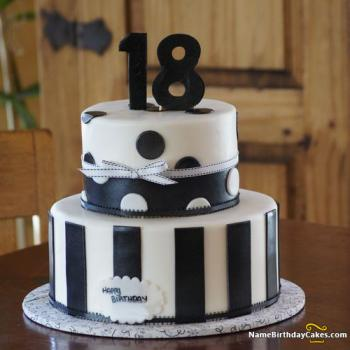 View HD 18 Birthday Cake For Boy