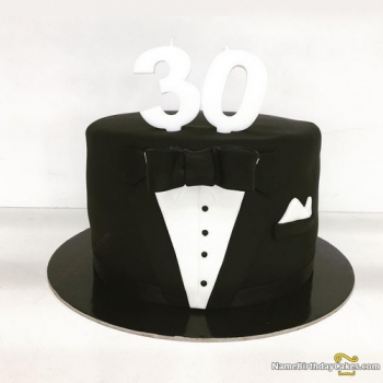 30th birthday cakes for men