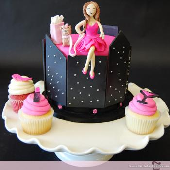 3d bridalshower cakes