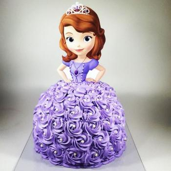 3d cake cinderella
