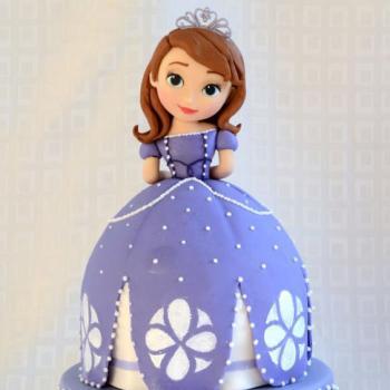 3d cinderella princess cake