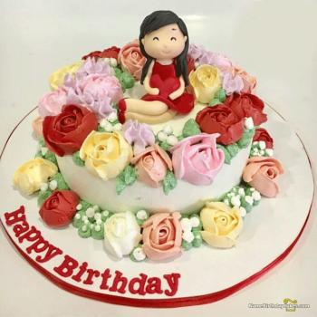 3d happy birthday cake picture for mom