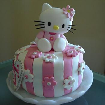 3d hello kitty cake design