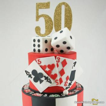 50th bday cakes photo