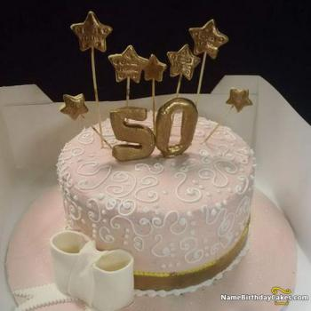 View HD 50th Birthday Cake Ideas