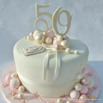 50th birthday cakes for female