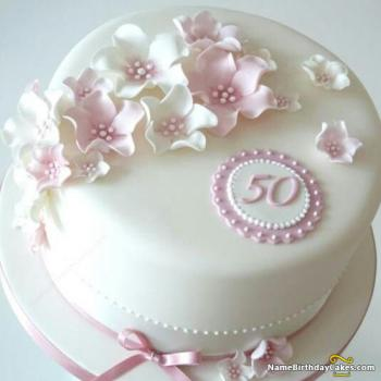 View HD 50th Birthday Cakes For Ladies