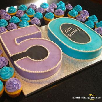 50th birthday cakes
