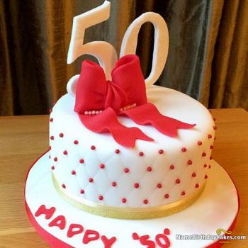 Pleasant 50Th Birthday Cakes For Men And Women Ideas Designs Funny Birthday Cards Online Elaedamsfinfo