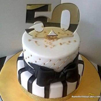 Wondrous 50Th Birthday Cakes For Men And Women Ideas Designs Funny Birthday Cards Online Elaedamsfinfo