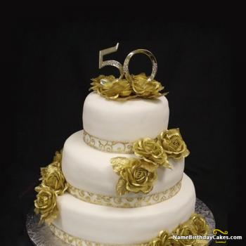 50th happy birthday cake images