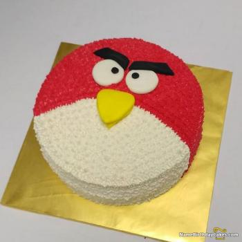 angry bird birthday theme