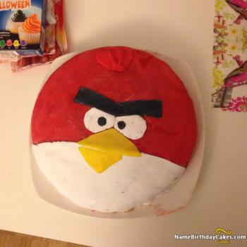 angry bird cake design and idea