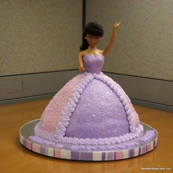 barbie birthday cake for princess
