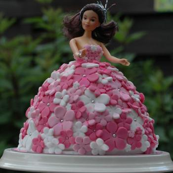 Beautiful Barbie Cake Barbie Birthday Cake For Girl