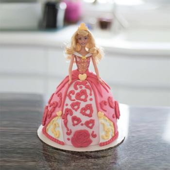 Barbie Princess Birthday Cakes