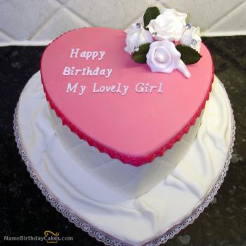 beautiful cake for girlfriend