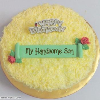 beautiful cake for son birthday