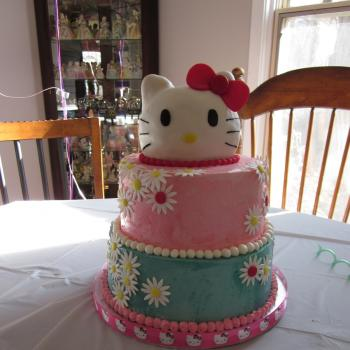 beautiful cake hello kitty