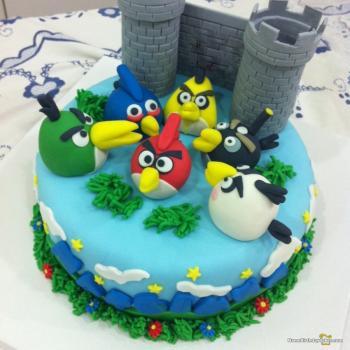 bird cake images