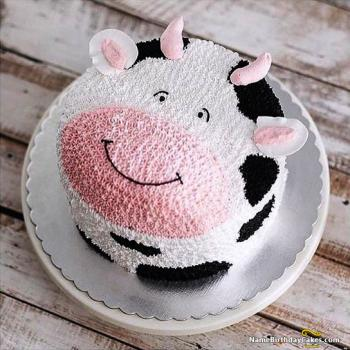 birthday cake cartoon for kids