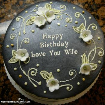 birthday cake designs for wife