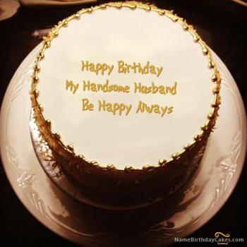 Peachy Happy Birthday Cake For Husband Romantic Birthday Wishes Personalised Birthday Cards Veneteletsinfo