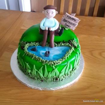 birthday cake for my daddy