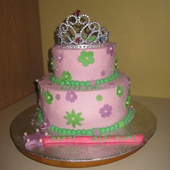 birthday cake for princess