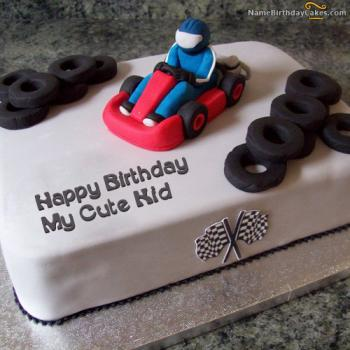 boy kids cake design