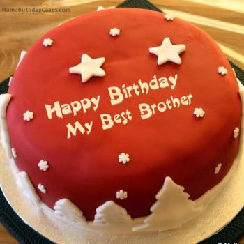 brother birthday cake