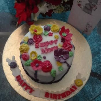 cake designs for moms birthday
