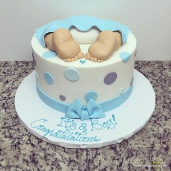 cake for baby boy