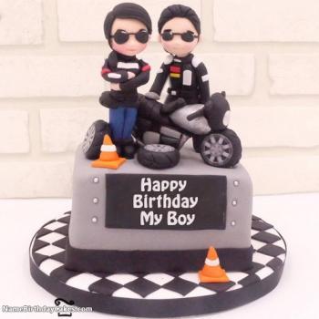 cake for birthday boy