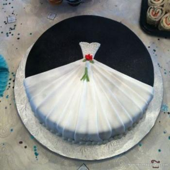cake for bridal shower party