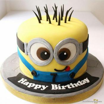View HD Cartoon Birthday Cake