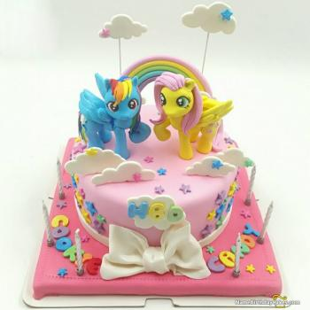 cartoon cake design