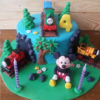 cartoon cakes for kids