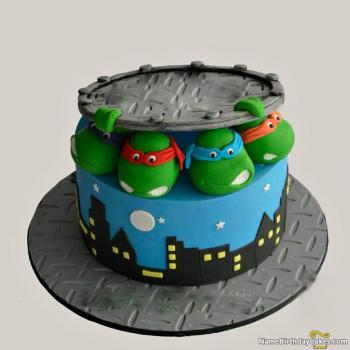 cartoon character cakes