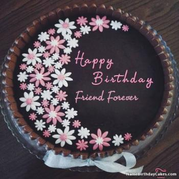 chocolate birthday cake images