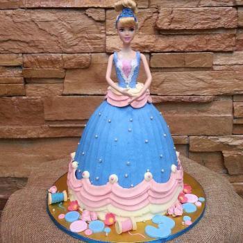Swell Beautiful Cinderella Cake Princess Birthday Ideas Birthday Cards Printable Riciscafe Filternl