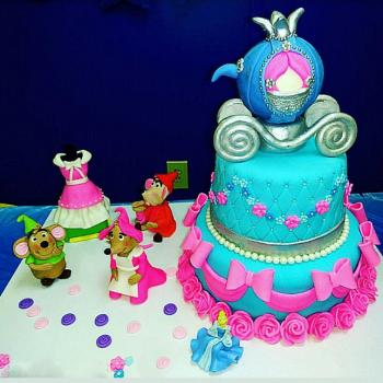cinderella cake decorations