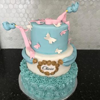 Cinderella Birthday Cake Castle