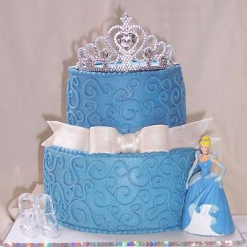 cinderella cake for kids