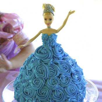 Beautiful Cinderella Cake Princess Birthday Ideas