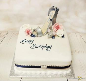 cinderella happy birthday cake