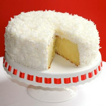 Coconut Birthday Cakes