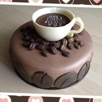 Coffee Birthday Cakes